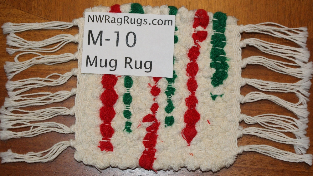 Close-up of Misc #M-10 Mug Rug Set