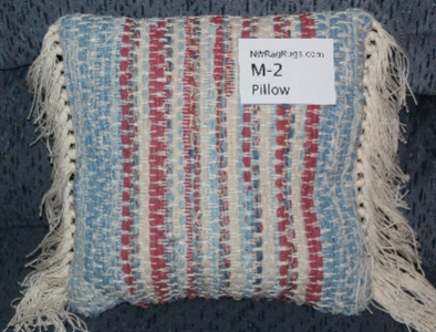 Misc #M-2. Pillow. Main colors: Red, White & Blue