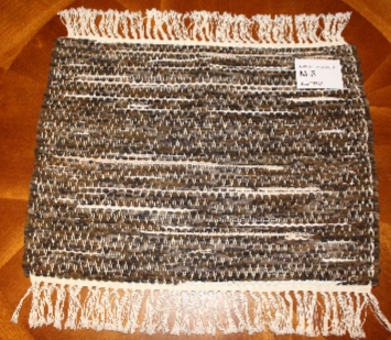 Misc #M-6. Table Runner. Main colors: Brown
