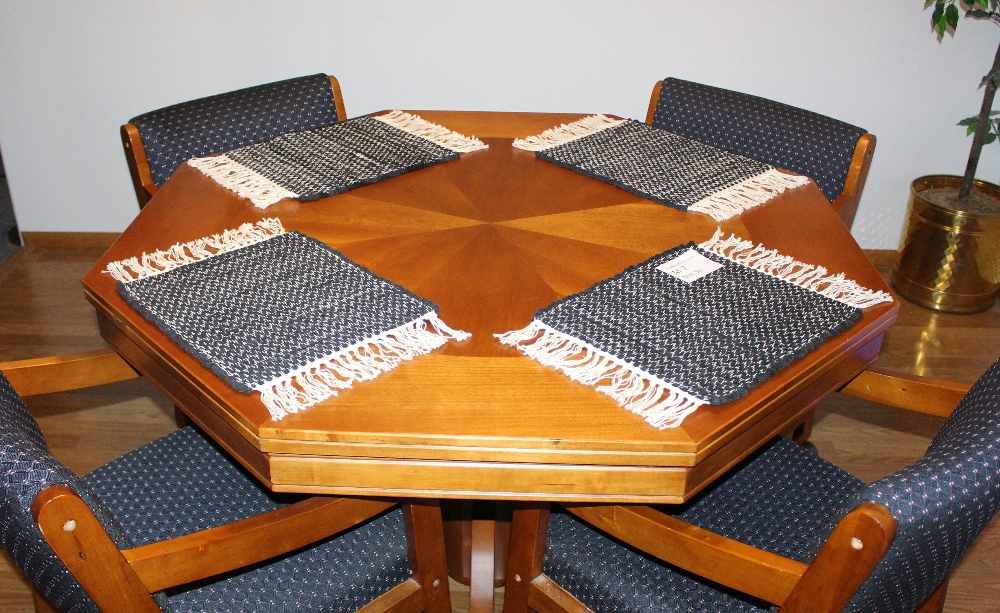 Wide View of Misc #M-7 Place Mat Set