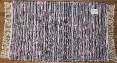 Rag-Wide #RW-14. Main colors: Multi w/Purple & Brown